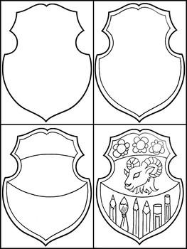 Coat of ARTS: Art Lesson Plan , Coat of Arms
