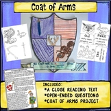 Coat of Arms Activity Get to Know You Project