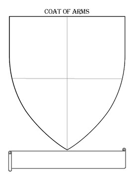Coat of Arms Family Shield