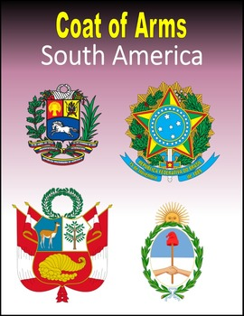 Coat of Arms for South America