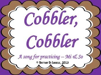Cobbler, Cobbler - A Song for So & Mi