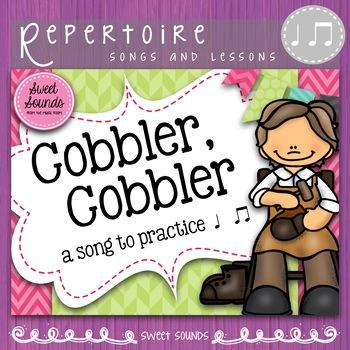 Cobbler, Cobbler {Ta Tadi Titi Rhythm Practice Pack}