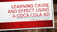 Coca Cola CAUSE AND EFFECT Activity