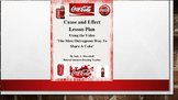 Coca Cola CAUSE AND EFFECT Activity Using a Video Coke Ad