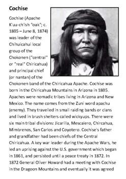 Cochise Handout