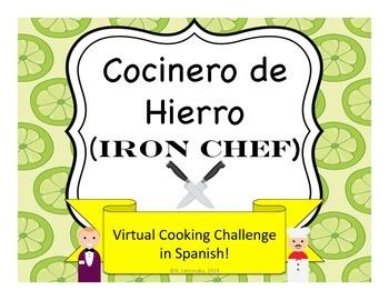 Cocinero de Hierro (Iron Chef) Virtual Food Challenge