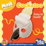 Cockatoo Mask | Printable Craft Activity