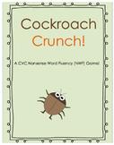 Cockroach Crunch (CVC Nonsense Word Fluency Game)