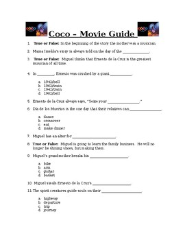 Coco (2017) - Movie Guide