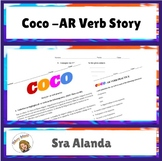 Coco -AR Verb Story and Spanish Subject Pronoun Practice