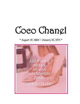 Coco * Chanel Pac