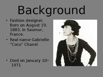 Coco Chanel Power Point Presentation