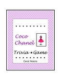 Coco Chanel  * Trivia Game