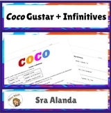 Coco Gustar + Infinitives Practice