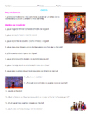 Coco Movie Guide Questions in Spanish with Answer Key | Cu