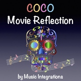 Coco Movie Reflection Worksheet- Day of the Dead- Dia De L