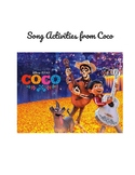 Coco Musical Cloze Activities