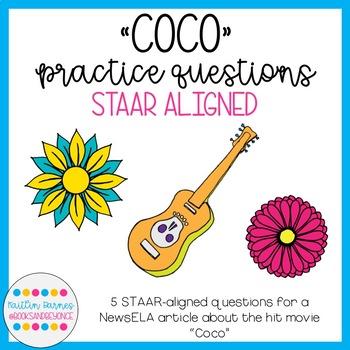 Coco STAAR Prep Questions (TEKS 5.2E, 5.10A, 5.Fig19D)