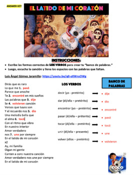 Coco Song - El Latido de Mi Corazón