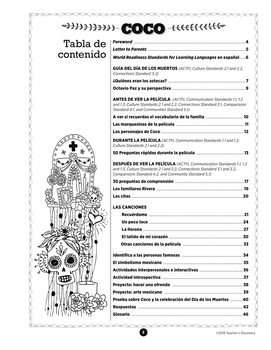 Coco Spanish Movie Resource Book Download