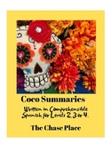 Coco Summary, written in Comprehensible Spanish for level