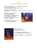 Coco Worksheet - Describir personas.