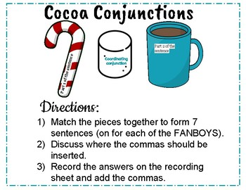 Cocoa Conjunctions