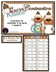 Cocoa Contractions First Grade Winter File Folder Game