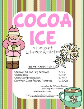 Cocoa Ice (Supplemental Materials)