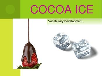 Cocoa Ice Vocabulary Development Powerpoint
