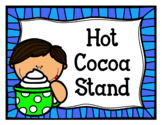 Hot Cocoa Stand (Hot Chocolate Dramatic Play)