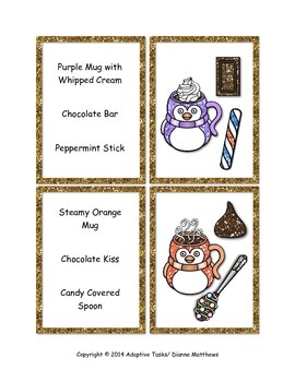 Cocoa and Treats Task Cards