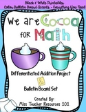 Cocoa for Math Addition - Bulletin Board Set