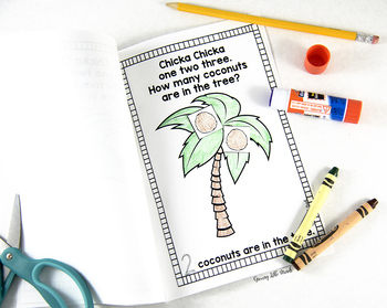 Coconut Counting Printable Book