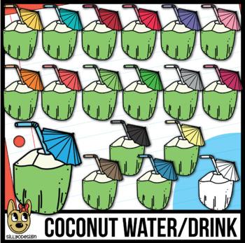 Coconut Drink Clip Art