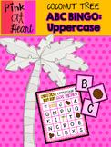 Coconut Tree: ABC BINGO: Uppercase