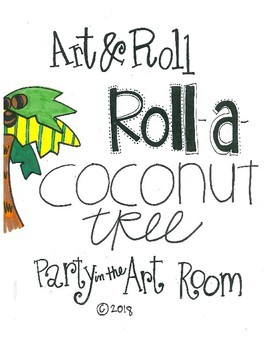 Coconut Tree Art Game for Kids (Emergency Sub Plans) Chicka Chicka Boom Boom