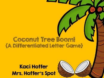 Coconut Tree Boom! {A Differentiated Beginning of Year Let