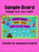 Coconut Tree: Bulletin Board Set