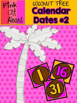 Coconut Tree: Calendar Dates 2