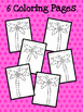 Coconut Tree: Coconut Tree Coloring Pages FREEBIE!