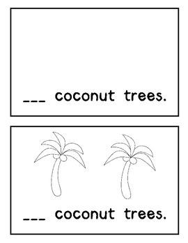 Coconut Tree Counting Book BUNDLE: Chicka Chicka Boom Boom Theme
