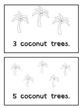Coconut Tree Counting Book: Chicka Chicka Boom Boom Theme