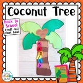 Chicka Chicka Coconut Tree Book Companion craft and Writing Activity