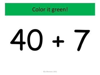 Coconut Tree Expanded Notation - Watch, Think, Color Mystery Pictures