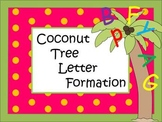 Coconut Tree Letter Formation Pack - Handwriting Made Fun!