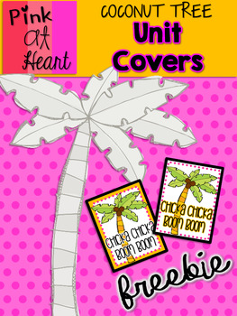 Coconut Tree: Unit Covers FREEBIE!