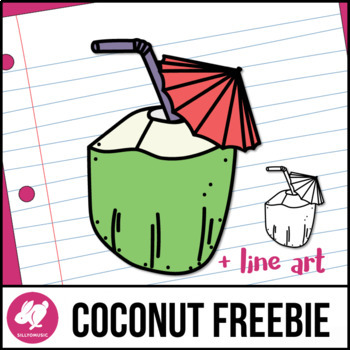 Coconut Water Drink Summer Freebie