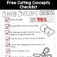 Coconuts?  Coco-cuts!  Kindergarten Cutting Skills Freebie!