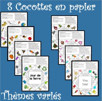 Cocottes en papier ENSEMBLE
